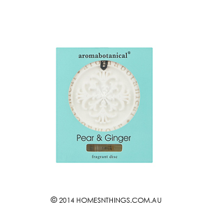 Aromabotanical Fragrant Disc Pear and Ginger300px