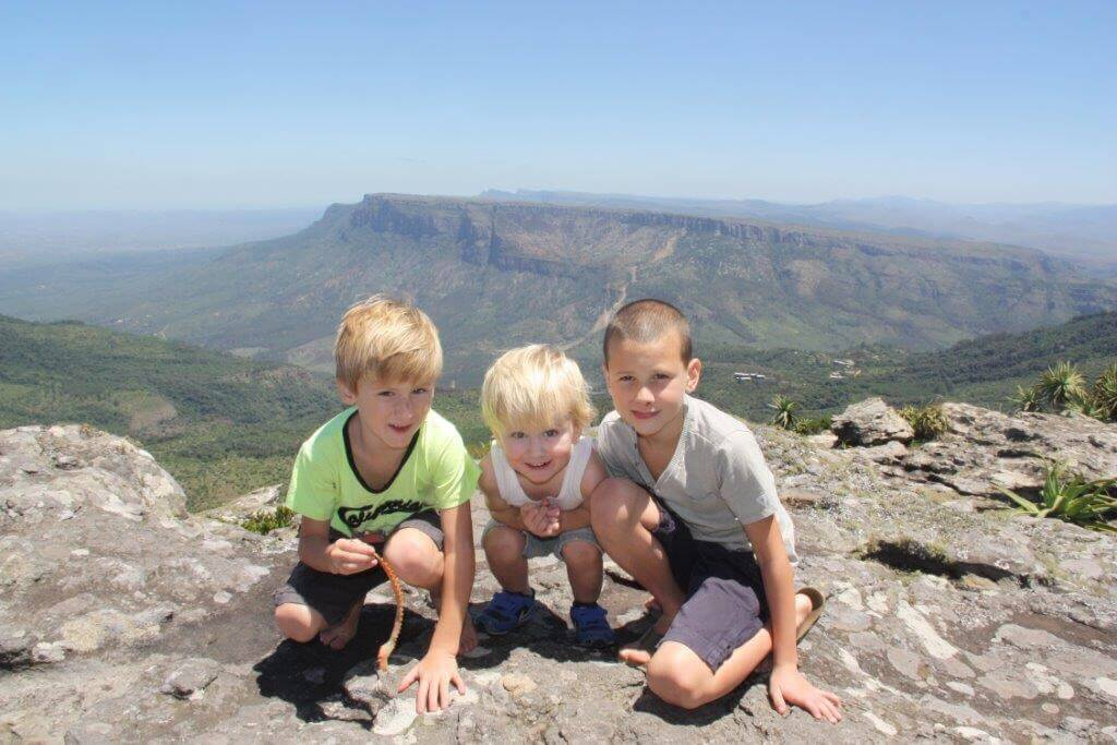 Blyde River Canyon with kids