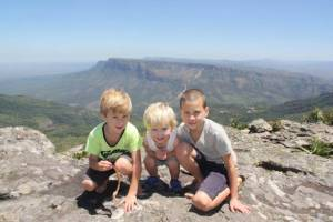 Blyde River Canyon in South Africa with kids