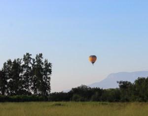 ballonvaart in zuid-afrika