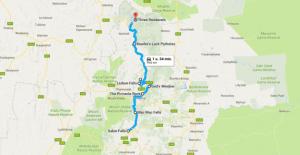 Map Panoramaroute - Zuid-Afrika