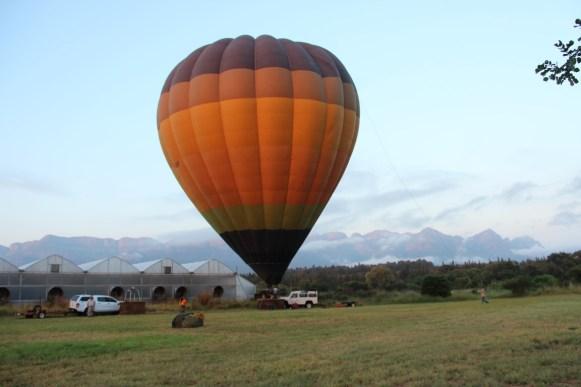 Ballonvaren Zuid-Afrika