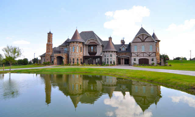 French Tudor Chateau In Celina TX Homes Of The Rich