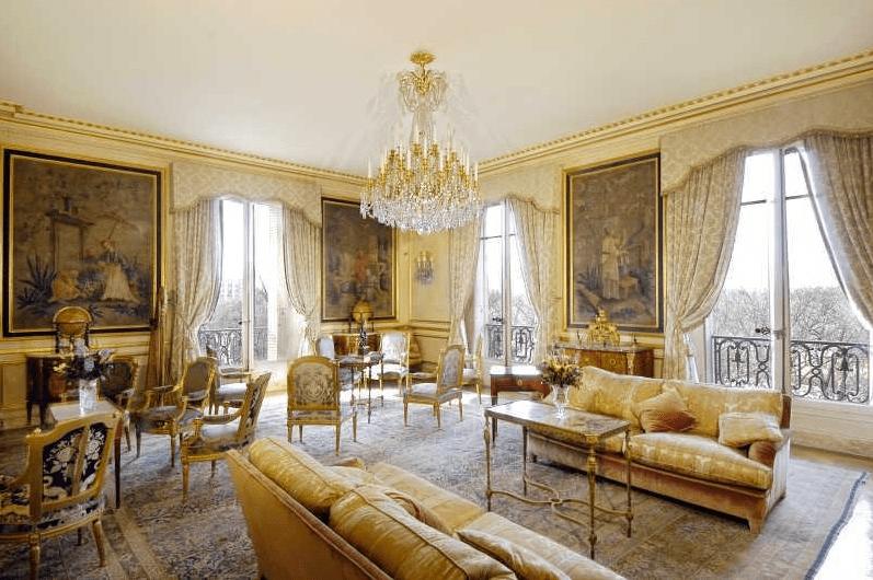 Lavish Avenue Foch Apartment In Paris Homes Of The Rich