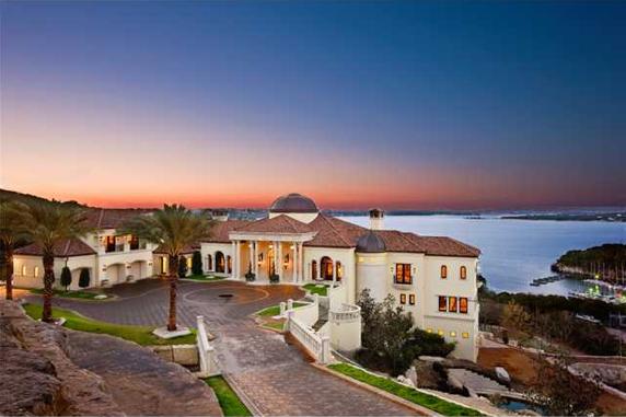 Breathtaking $15 Million Italian Villa In Austin, TX