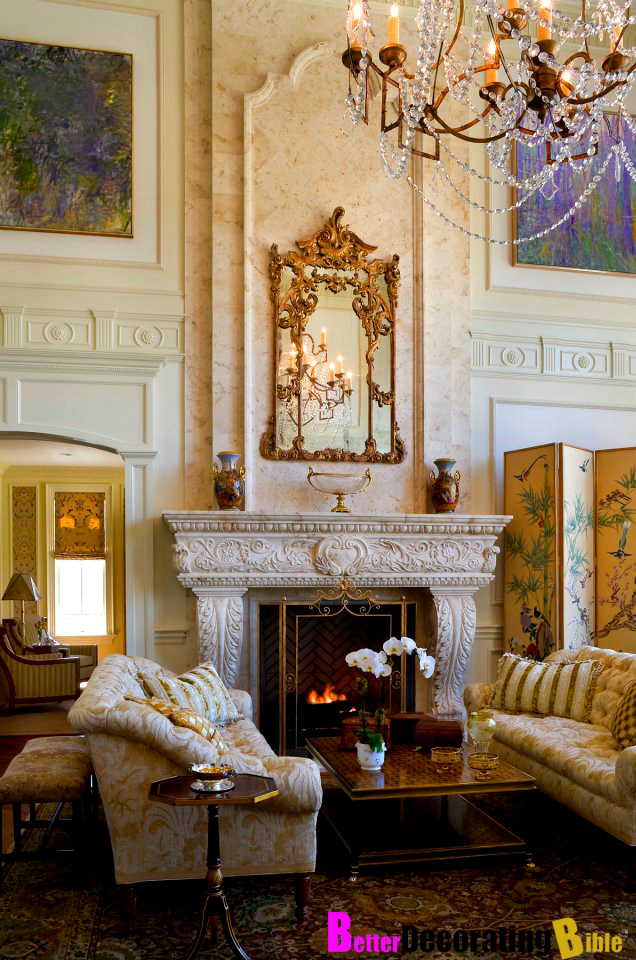 A Look Inside A Couple S Cresskill Nj Mansion Homes Of
