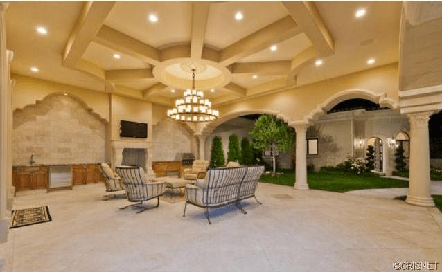 9995 Million Mediterranean Mansion In Calabasas CA