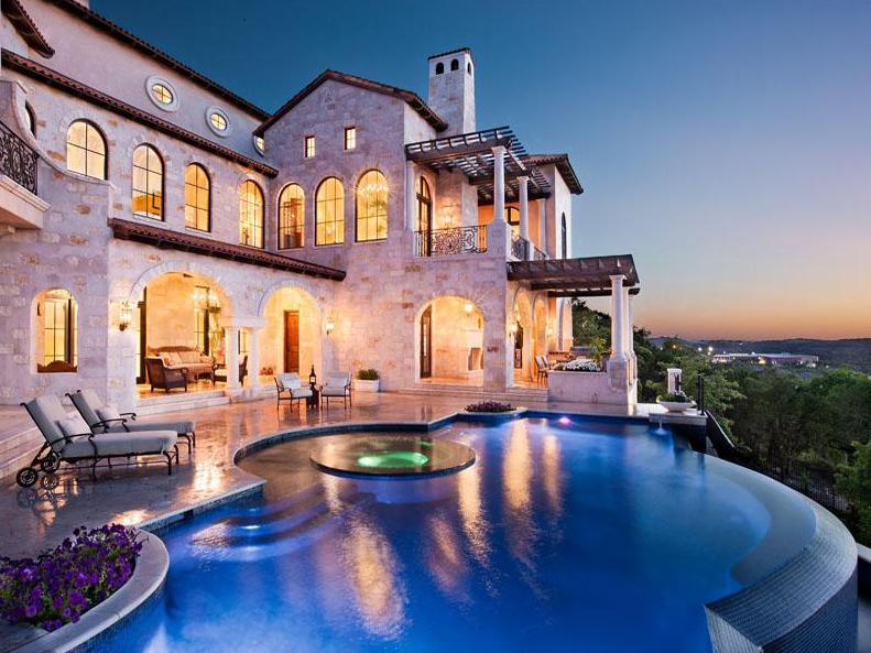 A $6.2 Million Italian Inspired Mansion In