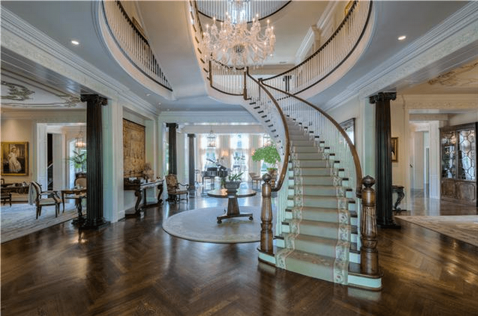 163 Million Newly Listed Plantation Style Mansion In