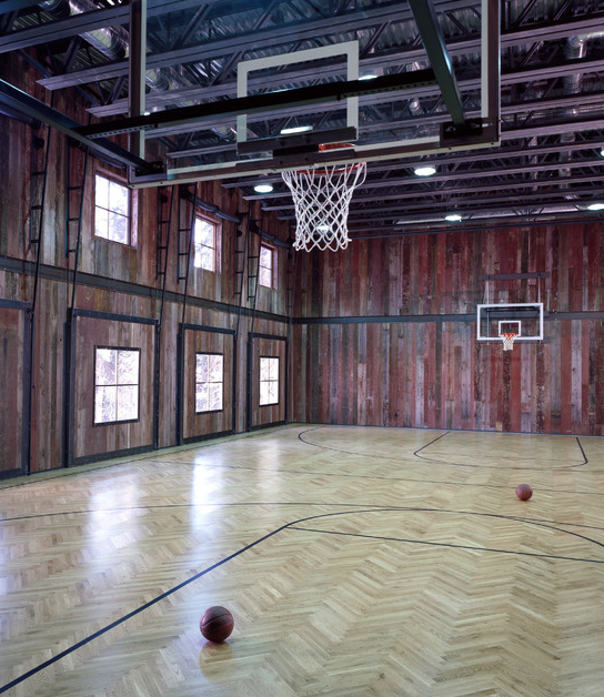 Indoor Basketball Courts Homes Of The Rich