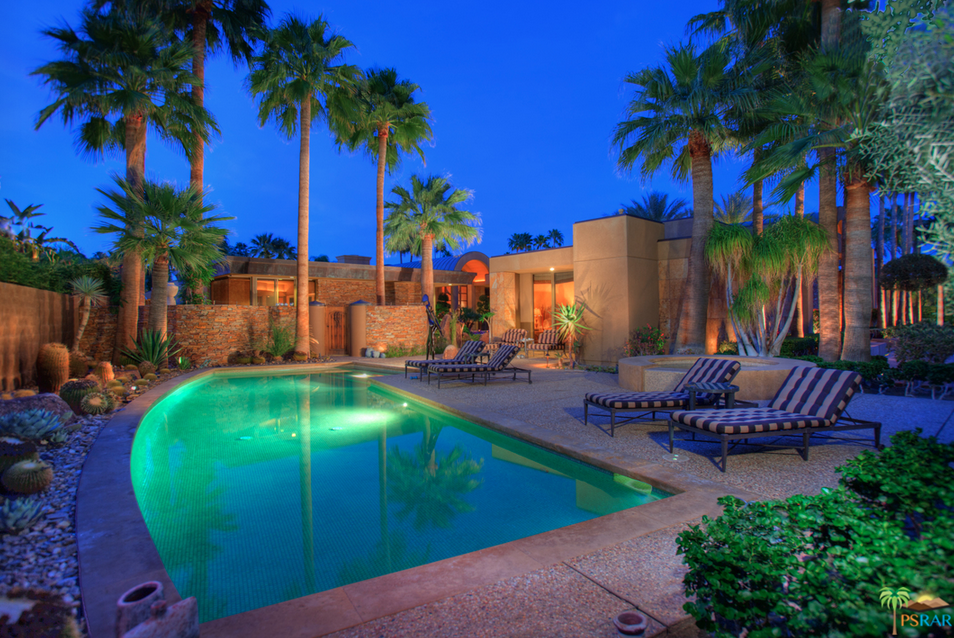 Philanthropist Jim Houston Lists Palm Springs Estate For