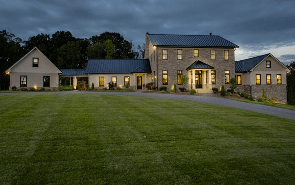 39 Million Newly Built Contemporary Farmhouse Style