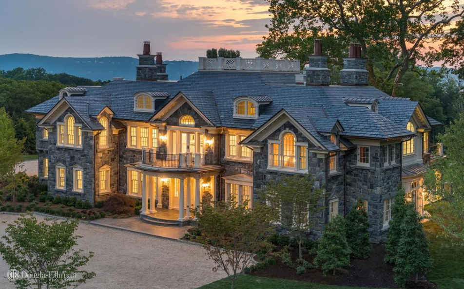 18000 Square Foot Newly Built Stone Mansion In Tarrytown