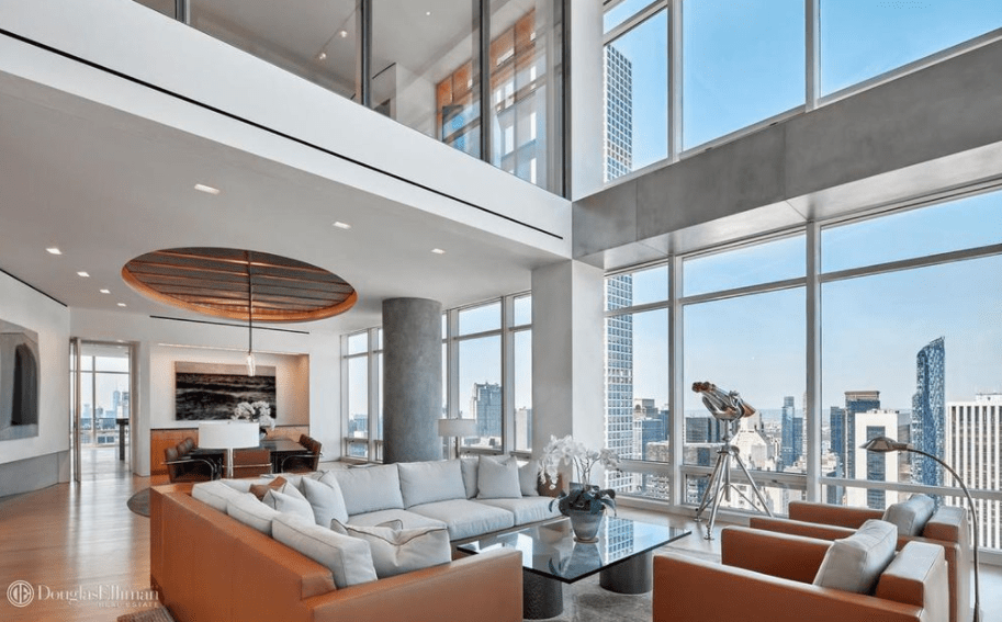 575 Million Duplex Penthouse In New York City FLOOR PLANS Homes Of The Rich