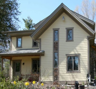 Ottawa area LEED Canada certified home