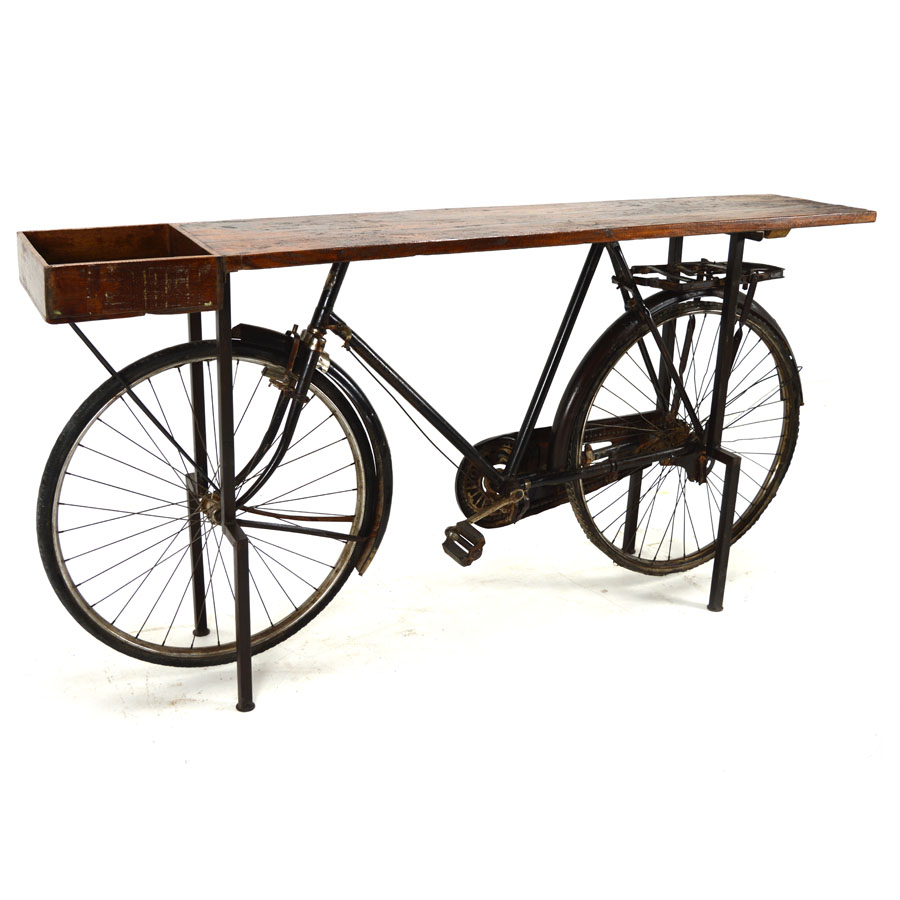 MSI 374 Deconstructed Bicycle Console Bar Table Home