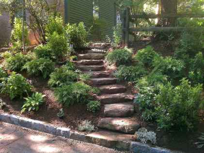 Affordable front yard walkway landscaping ideas (52)