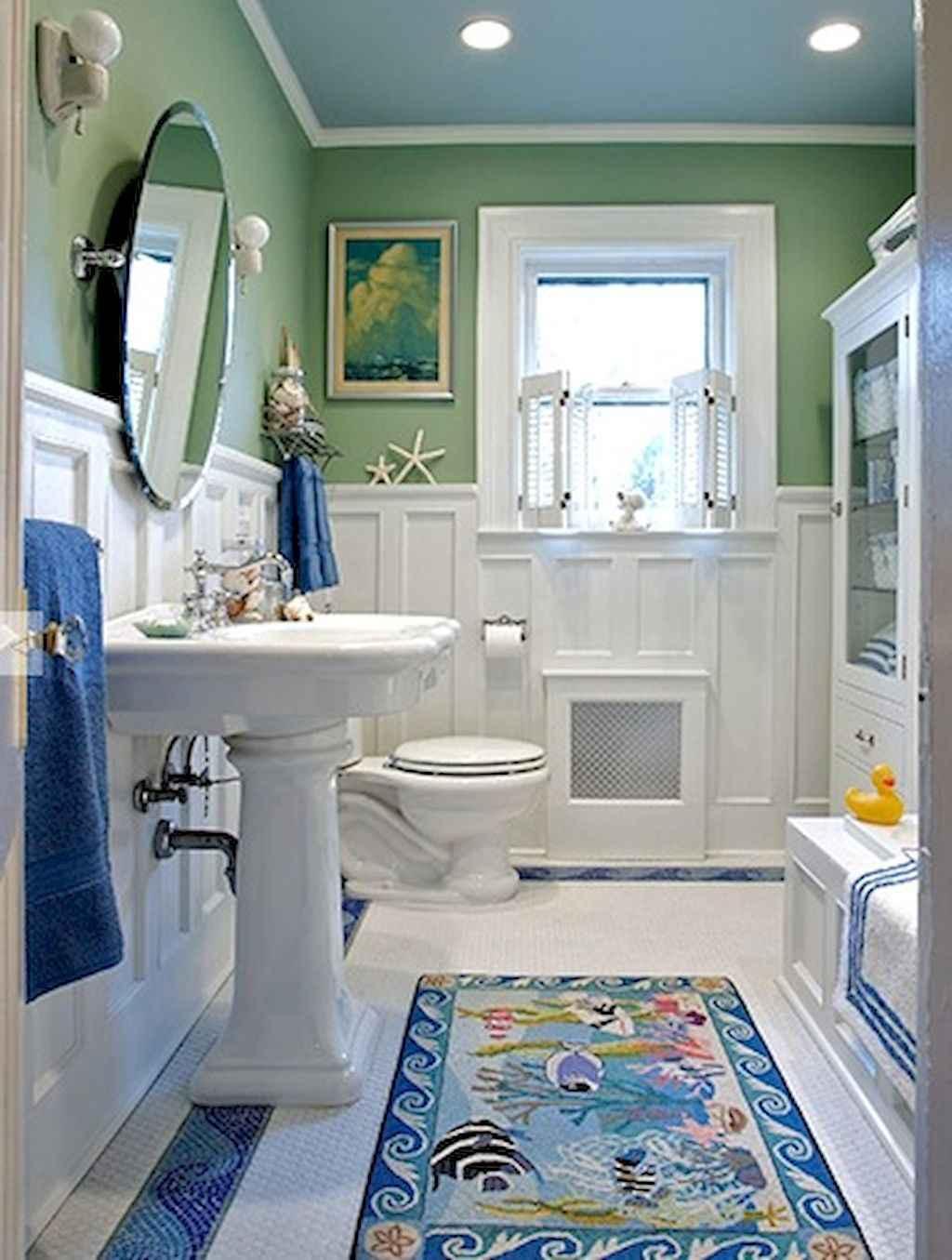 Awesome Coastal Style Nautical Bathroom Designs Ideas (32)