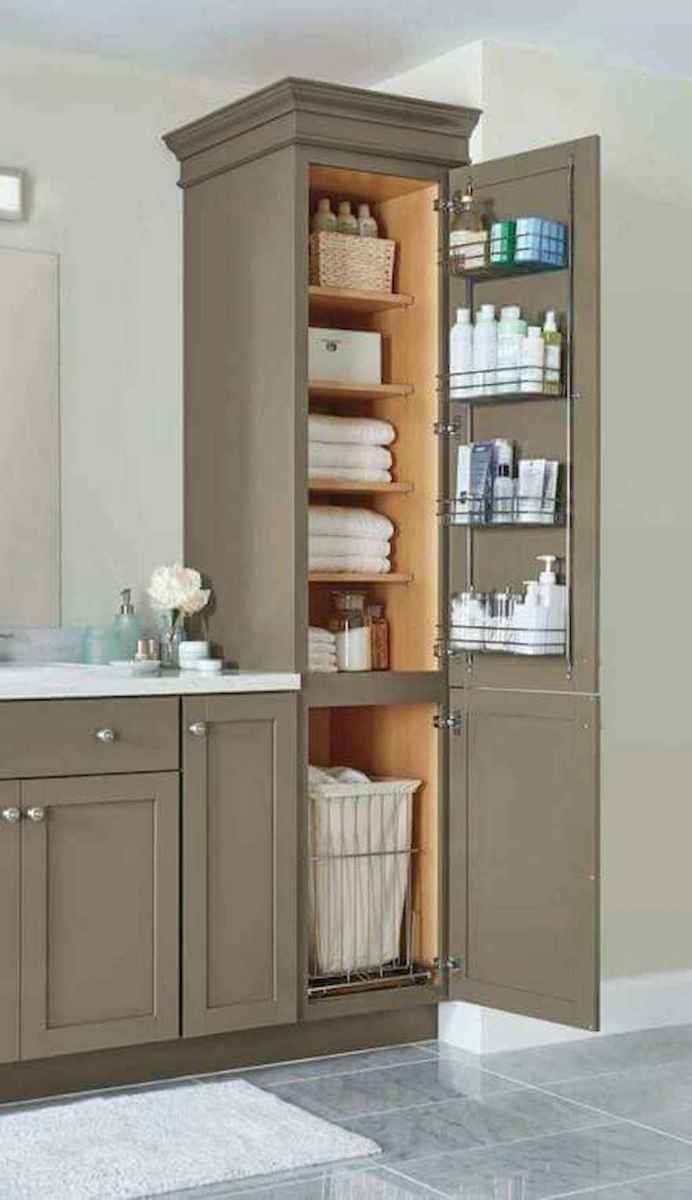 Clever organizing ideas bathroom storage cabinet (97)