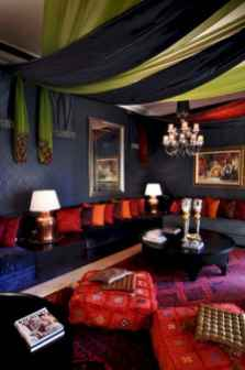 Fascinating moroccan vibe style living room for relaxing (90)