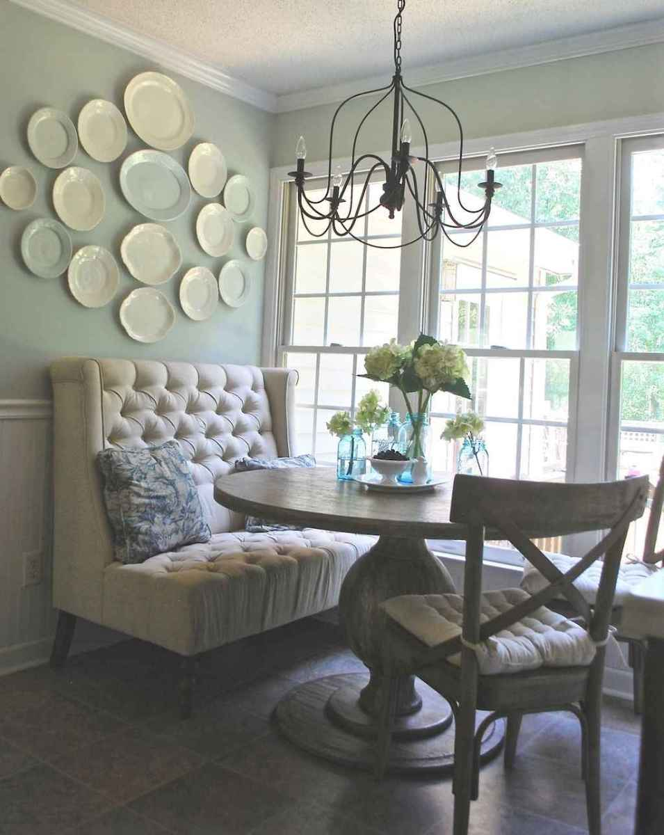 Lasting farmhouse dining room table and decorating ideas (11)