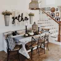 Lasting farmhouse dining room table and decorating ideas (22)