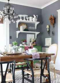 Lasting farmhouse dining room table and decorating ideas (37)