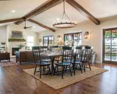 Lasting farmhouse dining room table and decorating ideas (4)