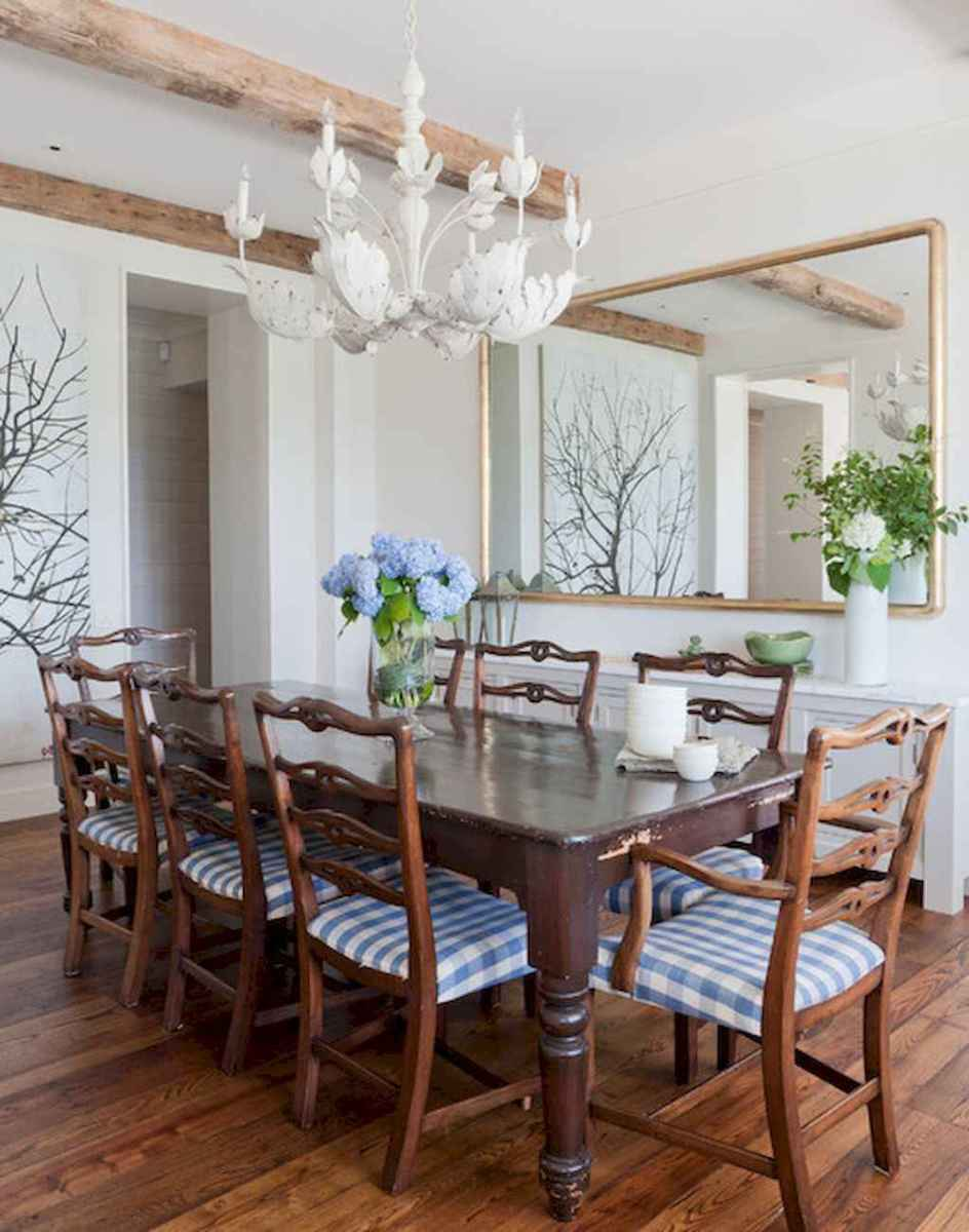 Lasting farmhouse dining room table and decorating ideas (43)