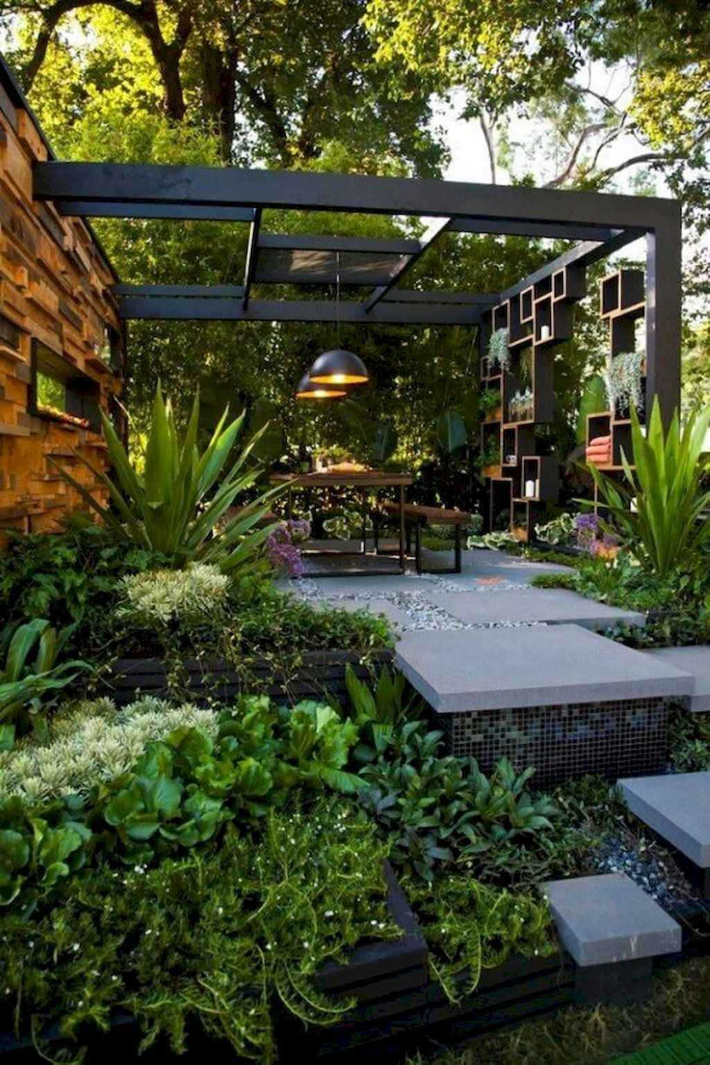 Small backyard landscaping ideas on a budget (59)