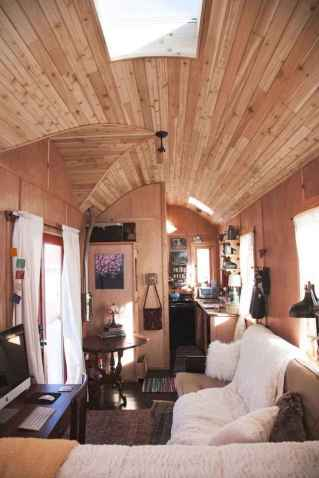 Tiny house bus designs and decorating ideas (100)