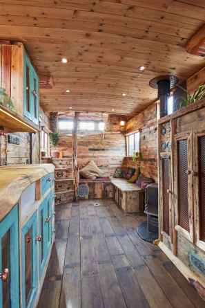 Tiny house bus designs and decorating ideas (79)