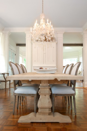 Beautiful french country dining room design and decor ideas (23)
