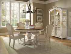 Beautiful french country dining room design and decor ideas (38)