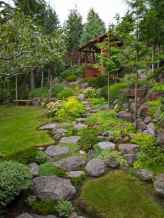 Beautiful front yard rock garden landscaping ideas (20)