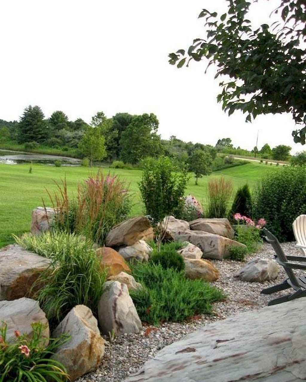 Rock Garden Front Yard Landscaping Ideas: Beautiful Front Yard Rock Garden Landscaping Ideas (29