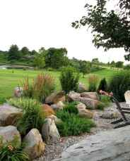 Beautiful front yard rock garden landscaping ideas (29)