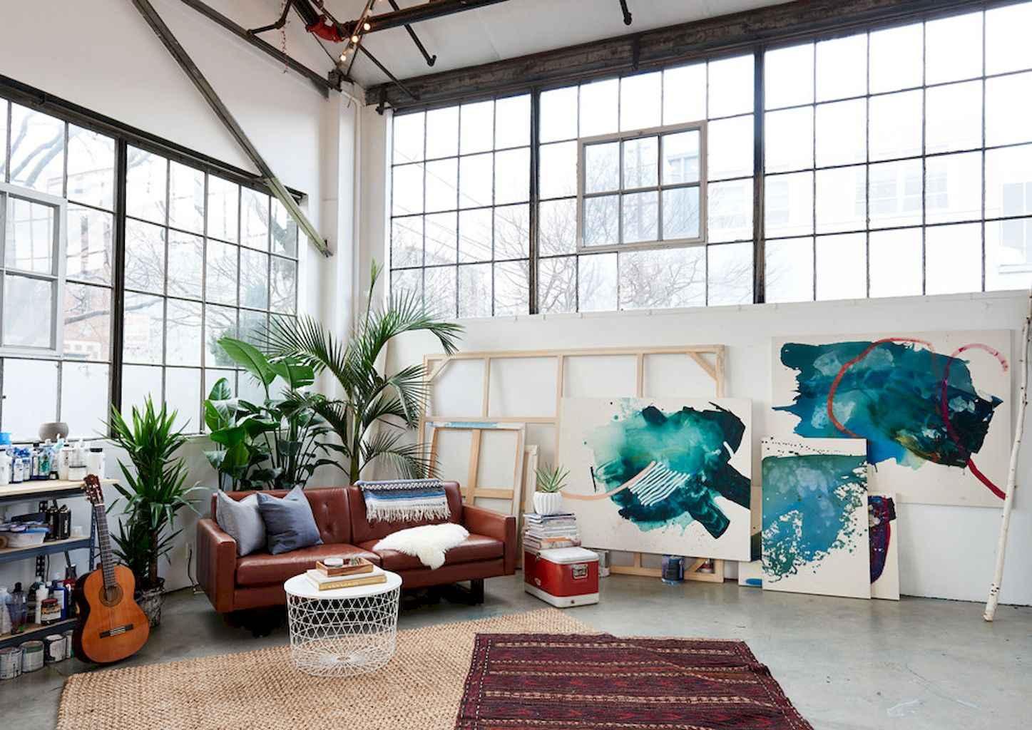 Cool creative loft apartment decorating ideas (10)