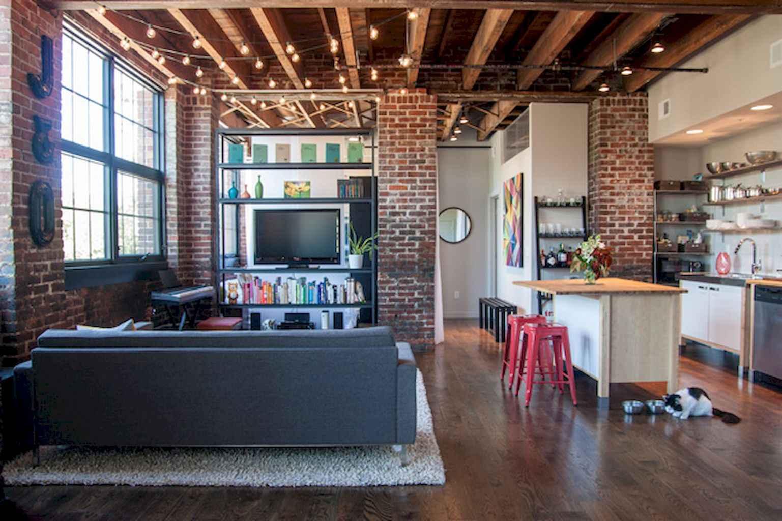 Cool creative loft apartment decorating ideas (4)