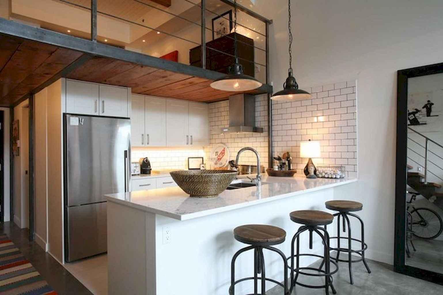 Cool creative loft apartment decorating ideas (41)