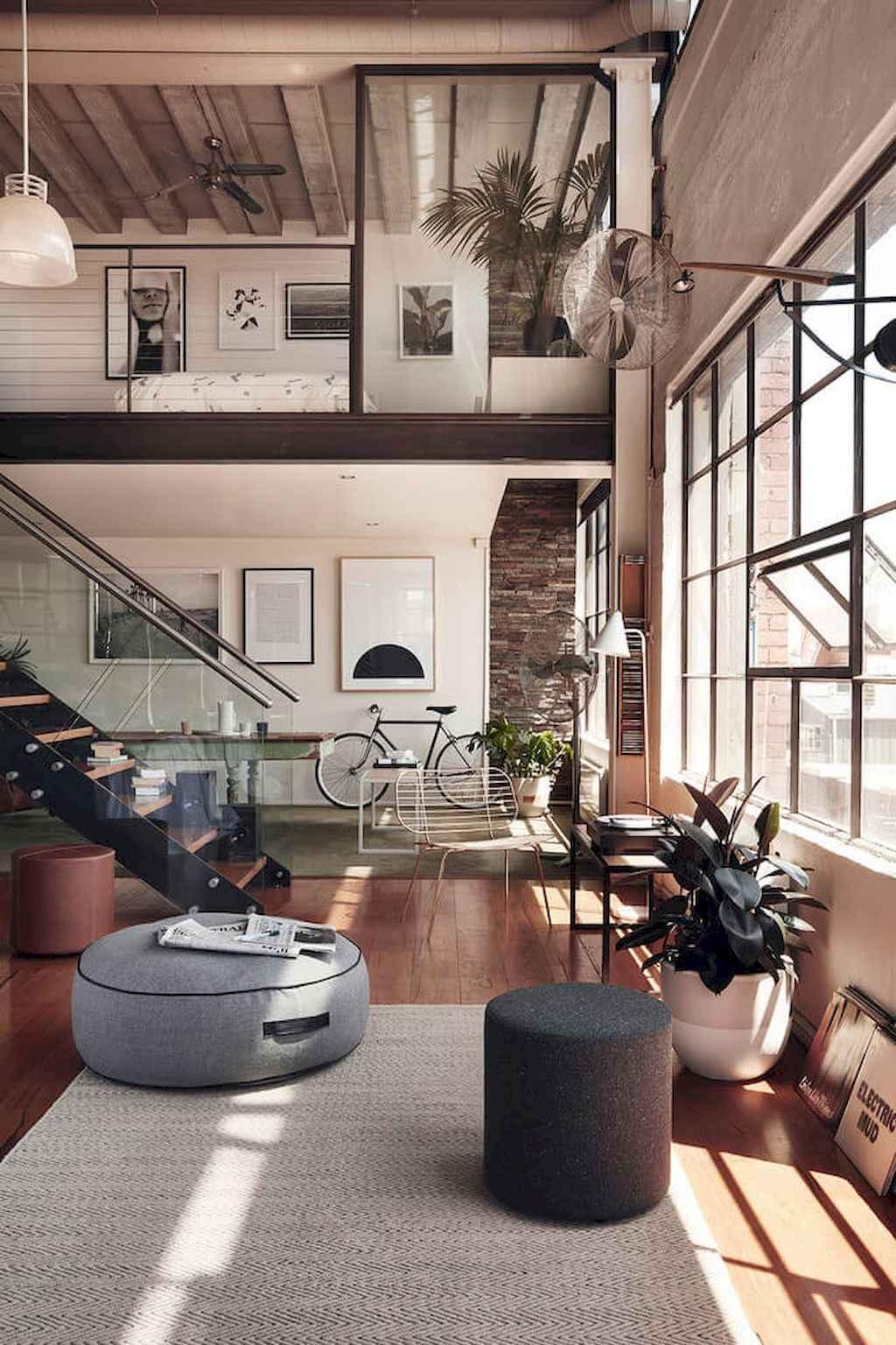 Cool creative loft apartment decorating ideas (50)