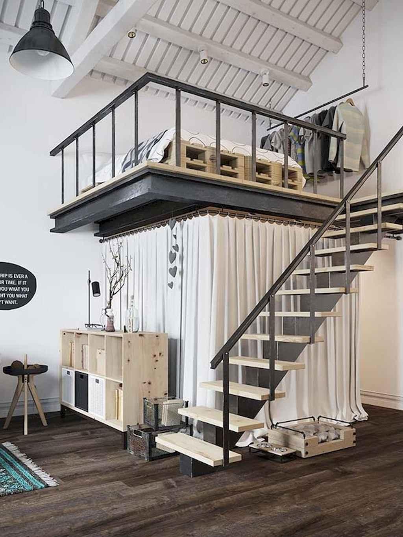 Cool creative loft apartment decorating ideas (7)