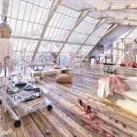 Cool creative loft apartment decorating ideas (70)