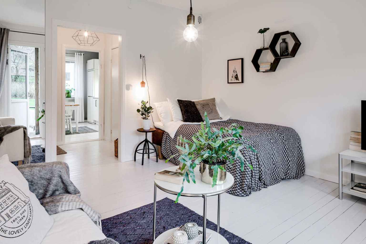 Cool small apartment decorating ideas on a budget (11)