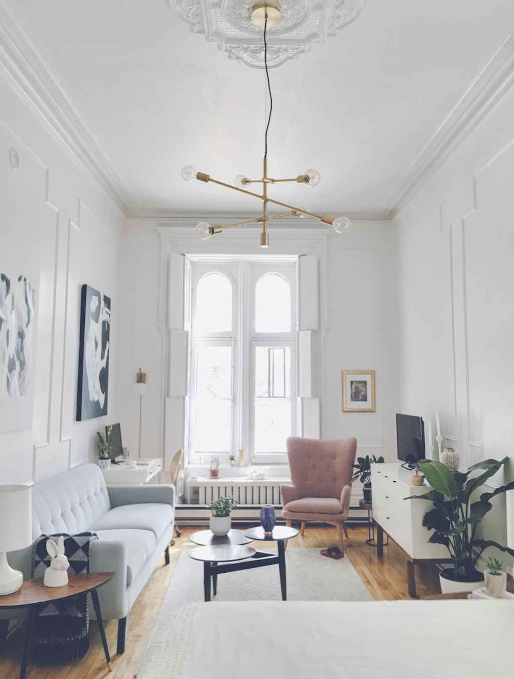 Cool small apartment decorating ideas on a budget (31)