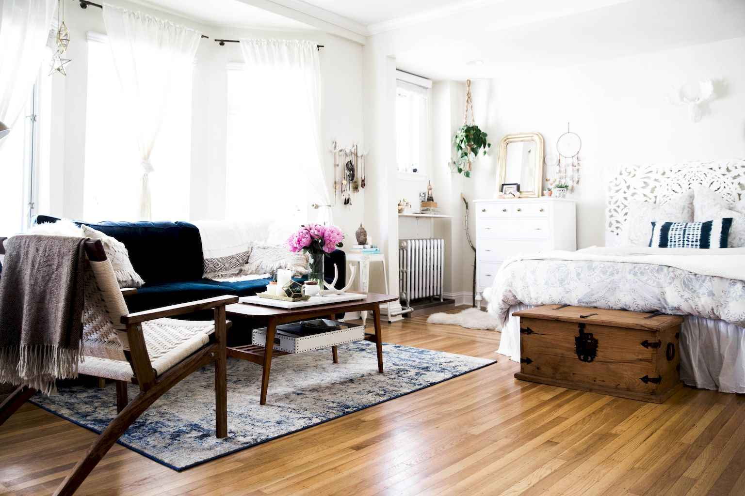 Cool small apartment decorating ideas on a budget (50)