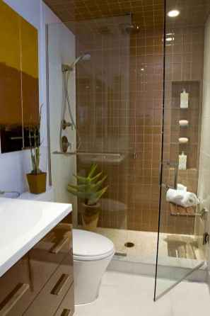 Cool small bathroom shower remodel ideas (38)