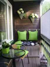Cozy small apartment balcony decorating ideas (3)
