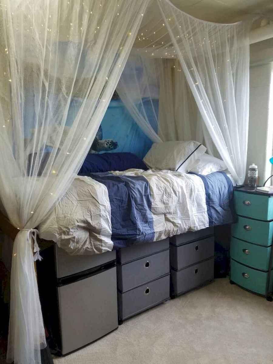 Creative dorm room storage organization ideas on a budget (22)