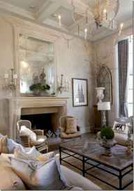 Fancy french country living room decorating ideas (15)